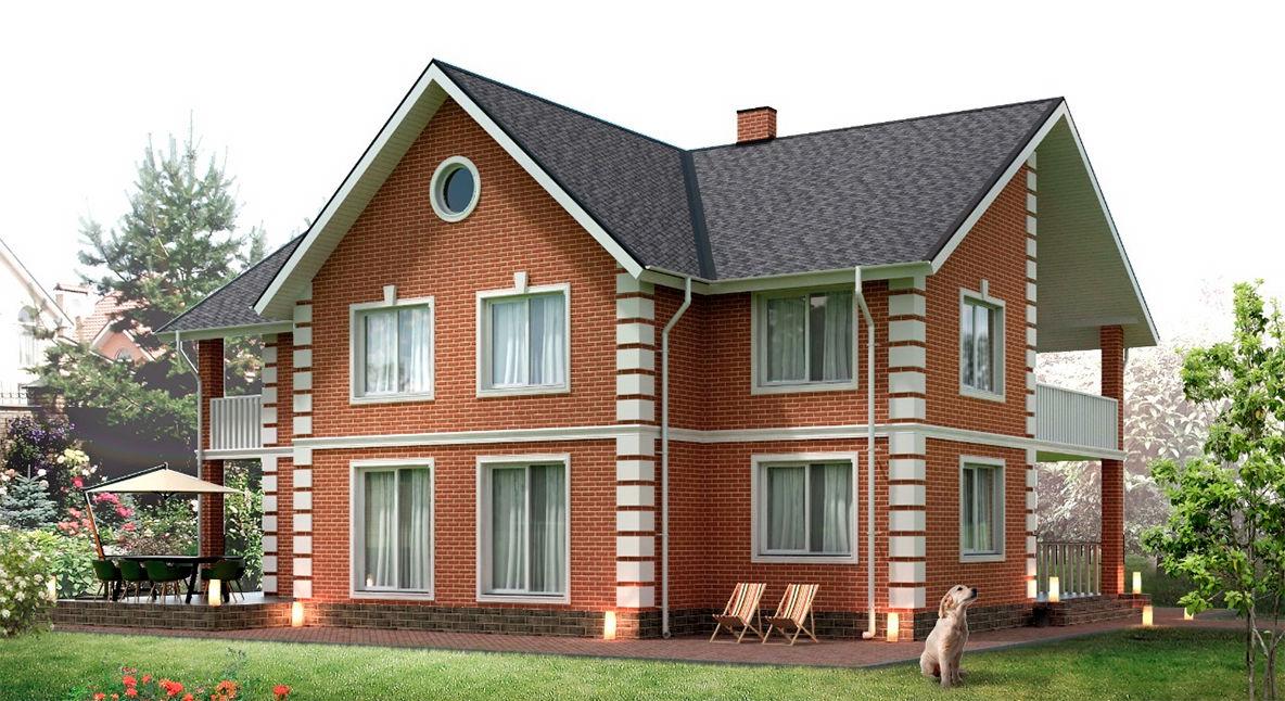Отделка фасадов частных домов в новосибирске